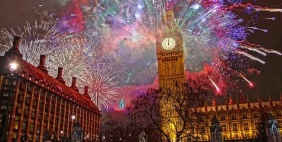 New Year in London. 829 £